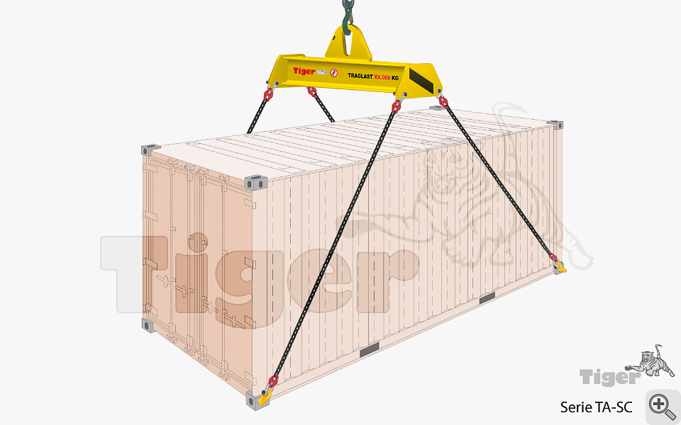 containertraversen kran hebetechnik bersee container. Black Bedroom Furniture Sets. Home Design Ideas