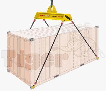 Übersee-Containertraverse
